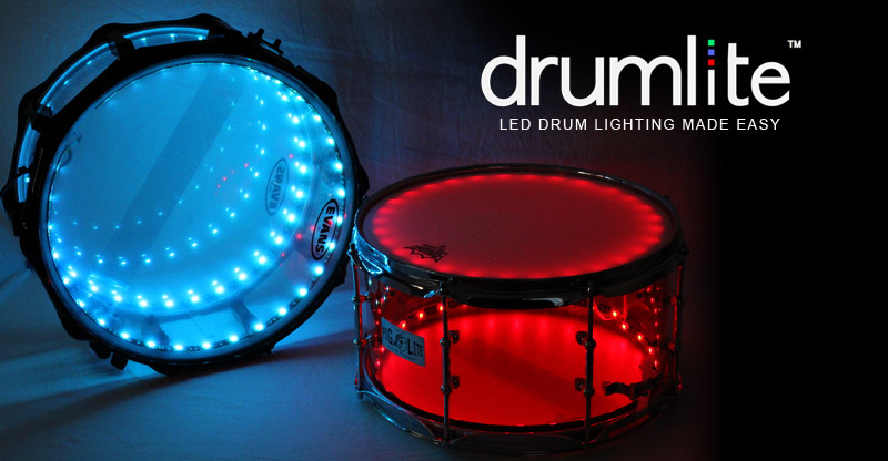 Drumlite Led Lights 22 Quot Bass Drum Kit Just Drums